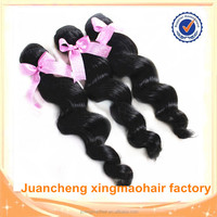 20inches Hot sale cheap virgin Malaysian loose wave/curly hair 6a virgin hair