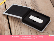 High End wholesale promotional handmade usb flash drive packaging box