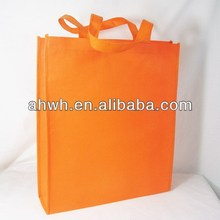 Yellow non woven shopping bag
