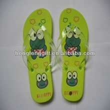 Hot selling eva flip flop keychain for gifts