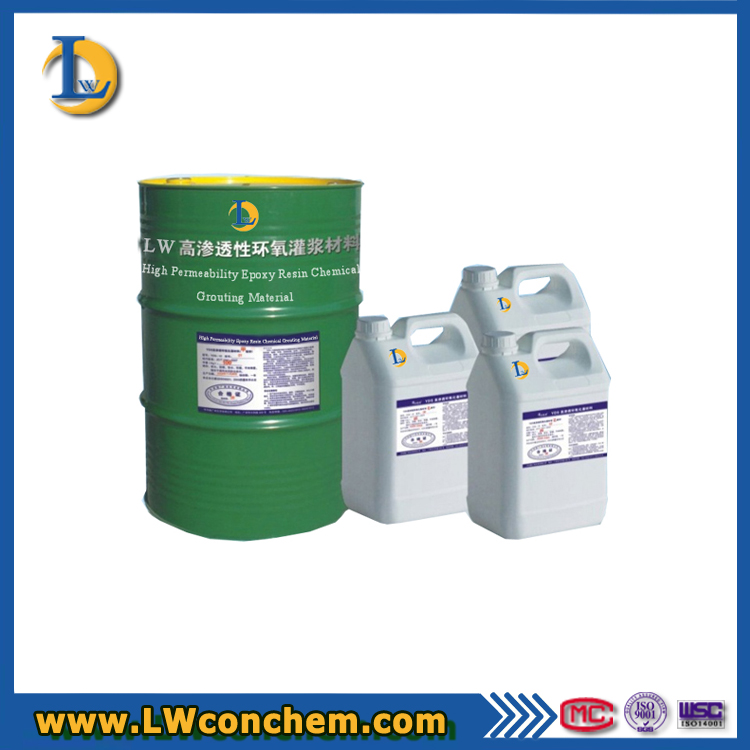 Construction Industry Epoxy Resin Grouting Materials With Non Shrink
