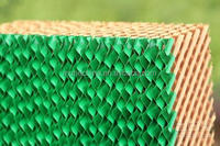 Coated color cooling pad with CE for poultry farm/greenhouses/workshop