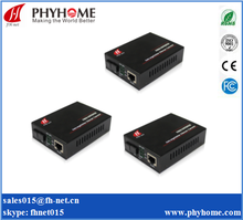 Gigabit Ethernet WDM Bi-Directional Single Mode Fiber Media Converter