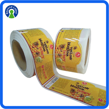 Printed Adhesive Labels For Food Containers,Waterproof Adhesive Packaging Food Label,Adhesive Food Label Sticker