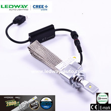Best Price and Smart System High Power Fanless automobile Accessories LED car headlight H7 First generation