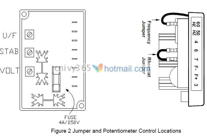 generator voltage regulator avc63 4 view generator voltage rh parbeau en alibaba com 3 Phase Generator Wiring Diagram Generator Control Panel Wiring Diagram