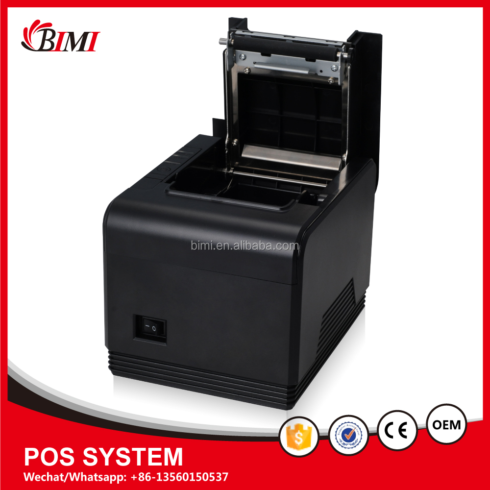 Factory best price high resolution cheap 80mm portable thermal receipt printer pos machine