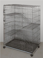 Cat Playpen Cage Pet Dog Folding Carte Safe Home Model 130 Wire Metal Midwest