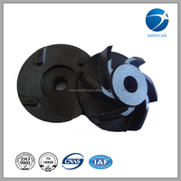 pump impeller casting different spacifications impellerspheroidal graphite iron castings horizontal centrifugal pumps