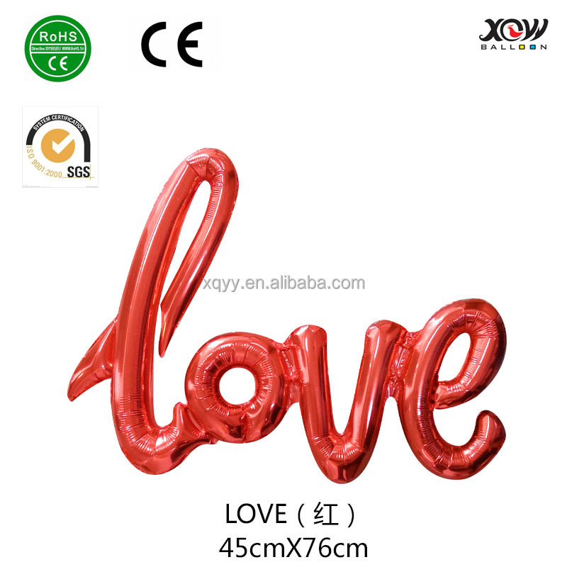 xqyy balloon factory foil balloon love letter balloon