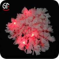 Wedding Gift Lights Flower Rattan Garland