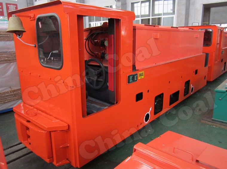 CAY12 Underground Mining Battery Powered Electric Locomotive
