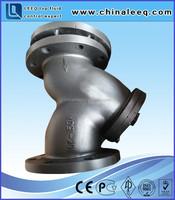 basket y strainer drain valve,y type strainer