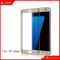 For Samsung S7 Edge HD Clear Full Cover curved Screen Protector Film For Samsung Galaxy S7 edge