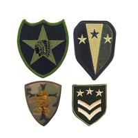 Factory wholesale custom embroidery military arm patches