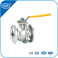 Metal sealing ball valve with manual handle