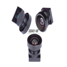 Dual lens car camera recorder DVR with 120 degree wide angle full hd 1080p fisheye lens