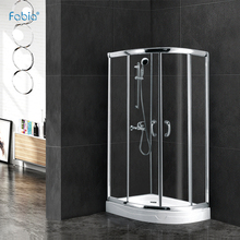 Water drainage design custom aluminum simple whole shower room FA034