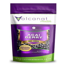 Acai Berry 1000mg High Strength Diet Supplement Pills Volcanat Health Foil Packs