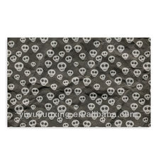 Exciting black skull wrapping paper special design