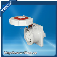 TIBOX 63A IP67 electrical power plug and industrial socket
