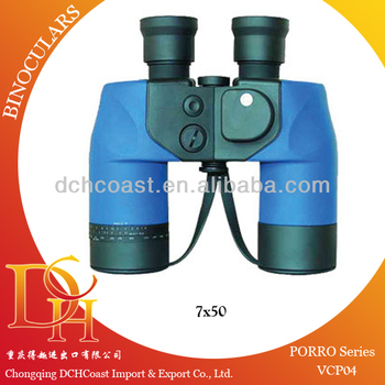 Large nikula binoculars 7x50 for marine