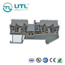 UTL Unique Products From China Spring Cage Clamping Terminal Block