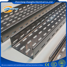 Direct Sales Factory with Metal Slotted Steel Cable Tray
