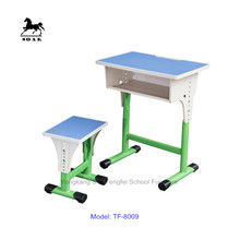 ergonomic cheap study table with stool for school furniture on sale