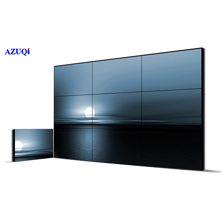 2x2 HDMI Video Walls Customized Digital Resolution 1920x1080 in Serial for Splicing Monitors