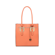 2017 Alibaba China Supplier Custom-made Women Faux Leather bag handbags