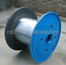 Large sizes corrugated steel cable reel for sale