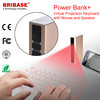 Bestselling Cheap Bluetooth Infrared Laser Virtual Keyboard With 5200mAh Power Bank