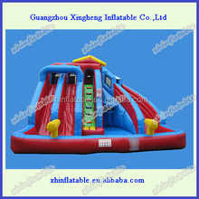 2016 popular inflatable combo,giant inflatable water slide for adult/children inflatable pool with slide