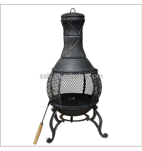 outdoor cast iron heater chiminea