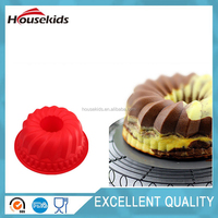 Big Flower Cake Mold Soap Baking Pan Tray Silicone Mould