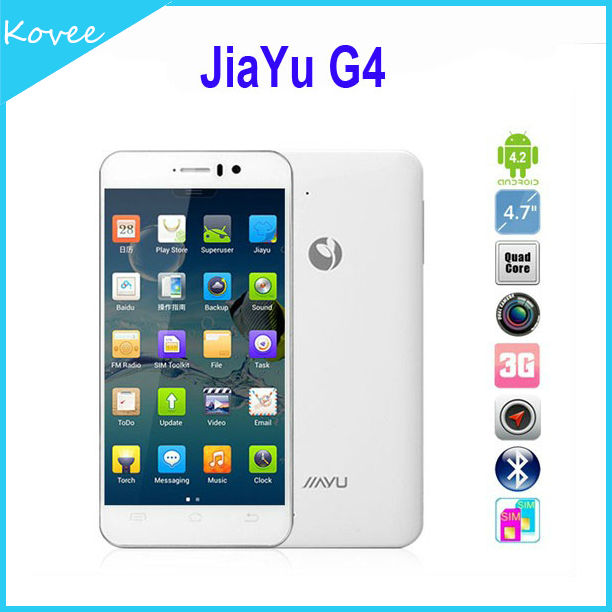 Jiayu G4 3G WCDMA/GSM Quad Core 4.7'' touch screen 1.5GHz CPU 13MP Camera Android 4.2 Smart Mobile phone(32 GB)