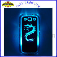 For Samsung Galaxy S3 Led Light Case, For Samsung Galaxy S3 i9300 Back Cover,IN Stock