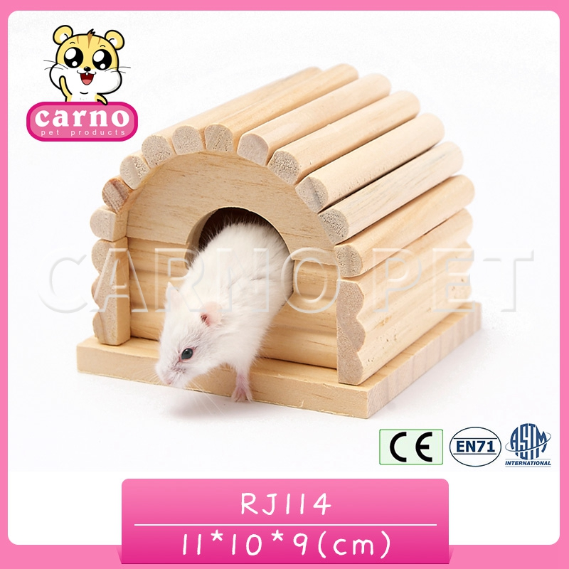Carno factory supply pet house wooden hamster house