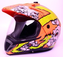 Popular design ATV motocross motorcycle helmet with DOT standard