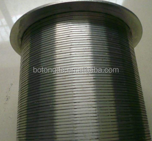 Stainless Steel Welding Wire Screen Cylinders and Conical Baskets