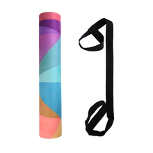 Long High Density Exercise Yoga Mat with Carrying Straps