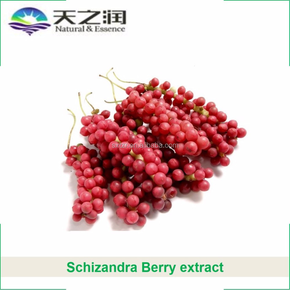 Productos naturales Schizandra Berry extract powder
