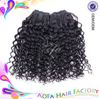 Wholesale 100% Human Virgin Natural Brazilian Honey Blonde Curly Weave Hair extension/weave/weft