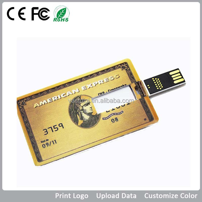 VDK-009 Bulk Personalised card usb memory sticks & flash drives