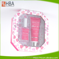 A set moisture body mist paper packing body nature lotion