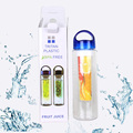 Shenzhen Factory Amazon Hot-selling Custom Color and Logo Fruit Infuser Water Bottle