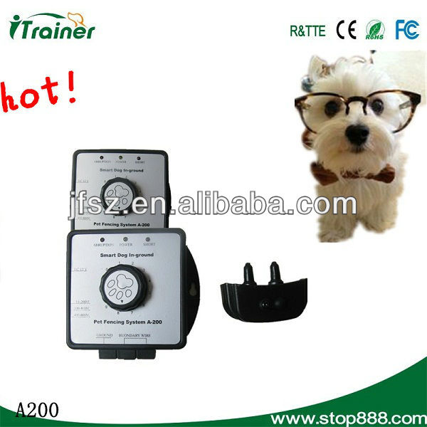 A200 Smart Dog In-obedience training for dogs Fencing System- Receiver can be charged