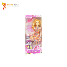 China wholesale beauty set 11.5 inch girls toy plastic mini craft dolls with lower price