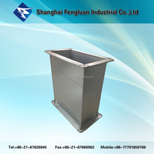 Galvanized Steel Rectangle Air Duct with Steel Flange